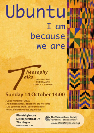 Ubuntu: I am because we are - Sunday October 14th